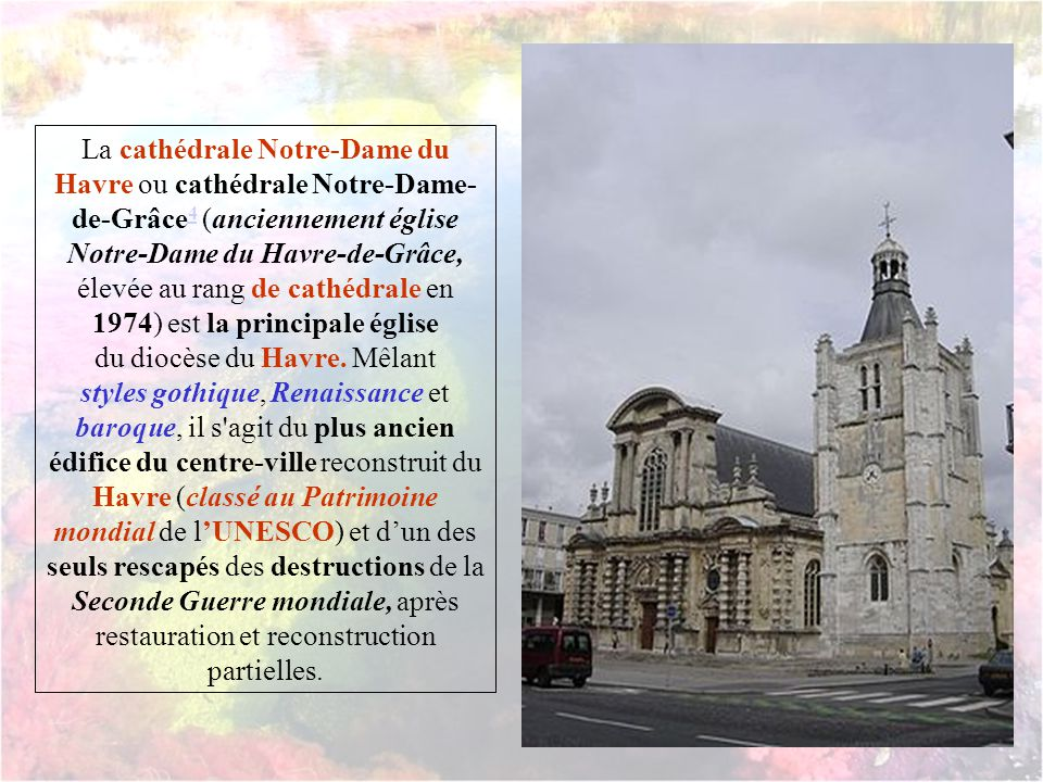du diocèse du Havre. Mêlant