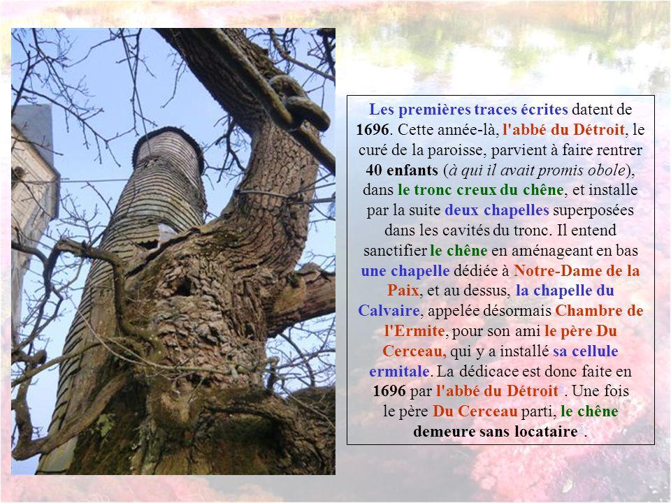 le père Du Cerceau parti, le chêne demeure sans locataire5.