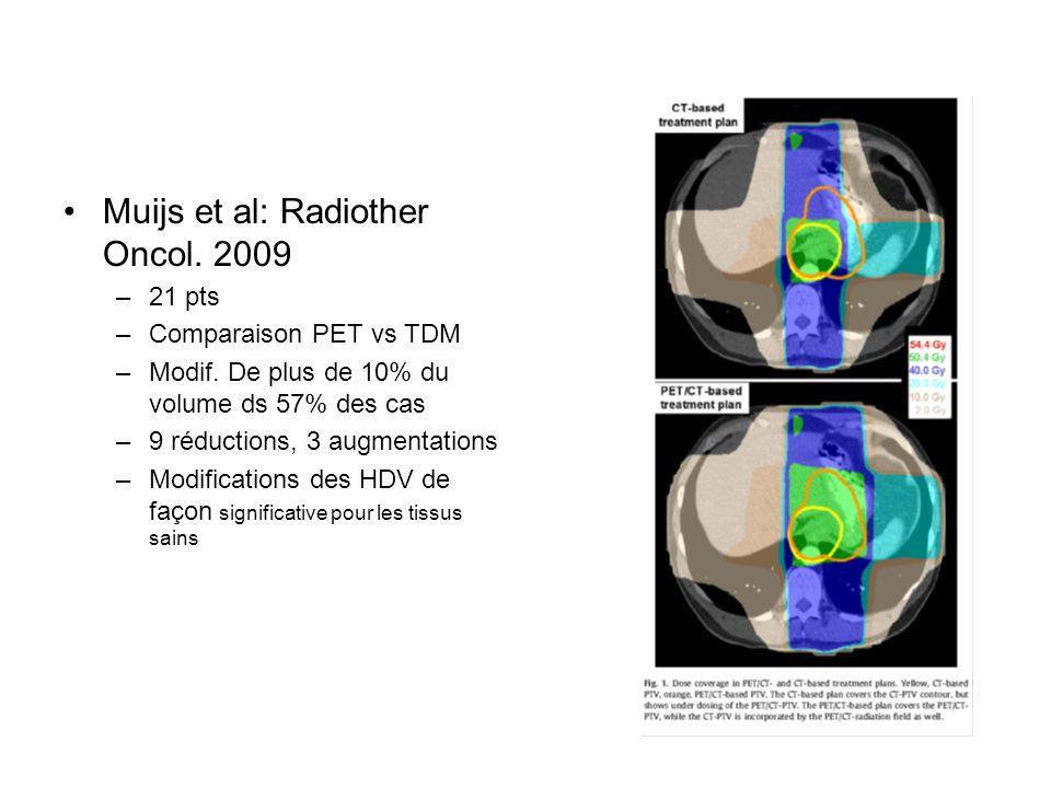 Muijs et al: Radiother Oncol. 2009