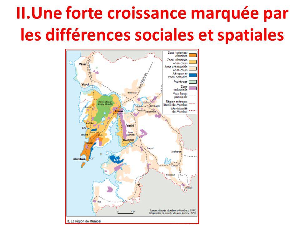 II.Une forte croissance marquée par les différences sociales et spatiales