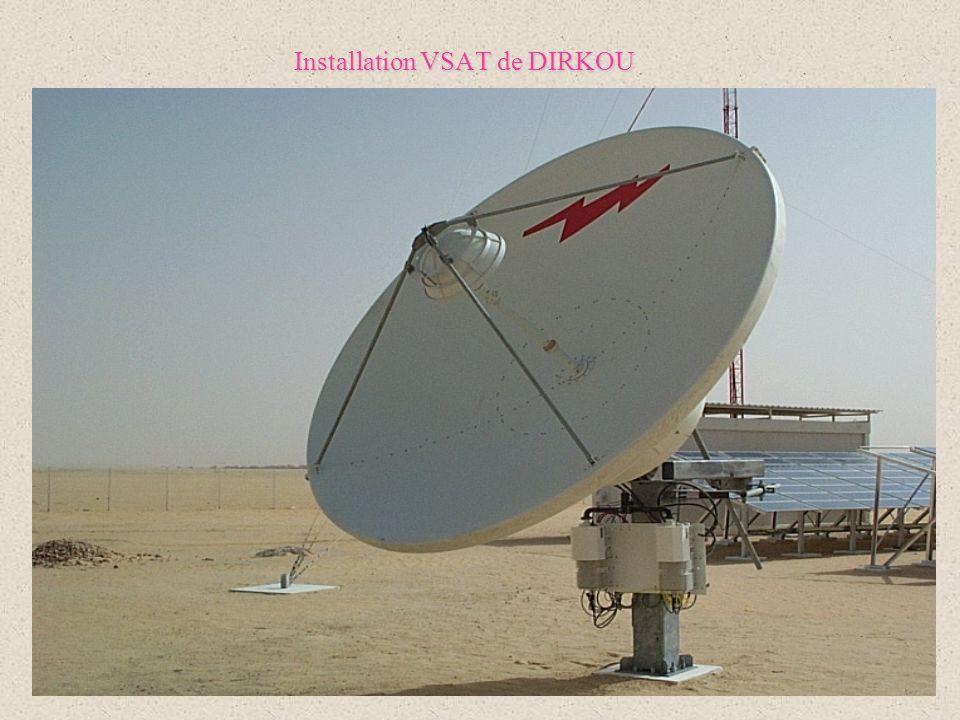 Installation VSAT de DIRKOU
