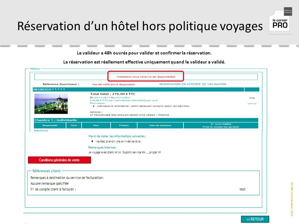 Resahotel l outil de r servation h tels ppt t l charger for Reservation dhotel