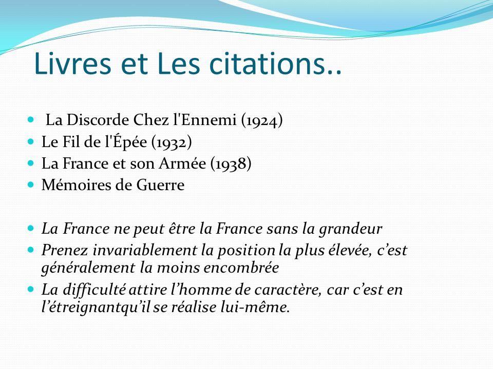 Livres et Les citations..