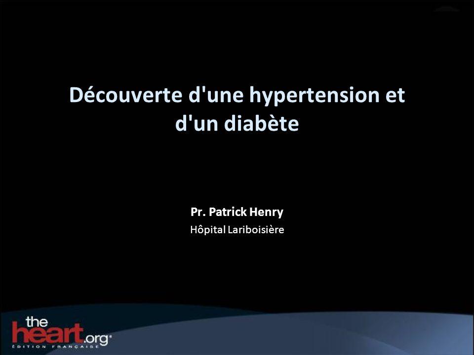 Découverte d une hypertension et d un diabète