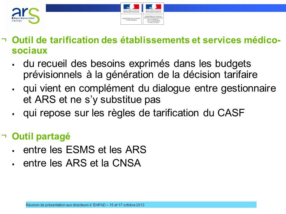 qui repose sur les règles de tarification du CASF