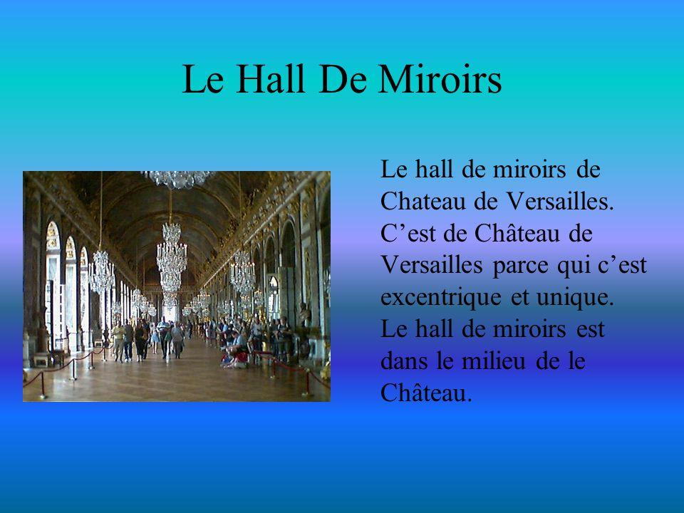 Le Hall De Miroirs