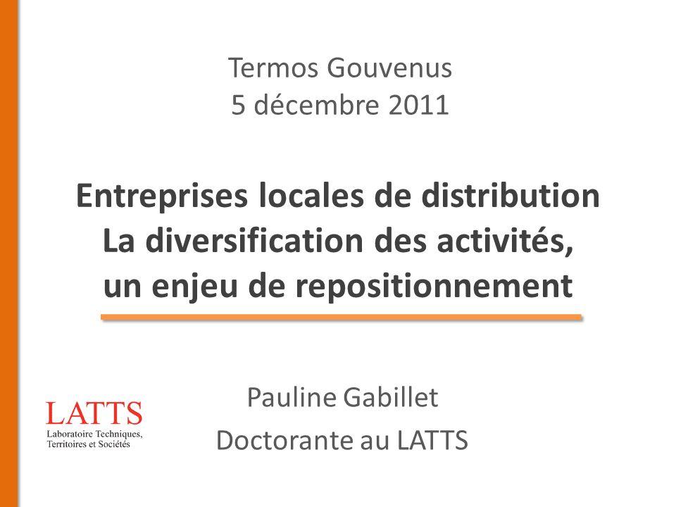 Pauline Gabillet Doctorante au LATTS