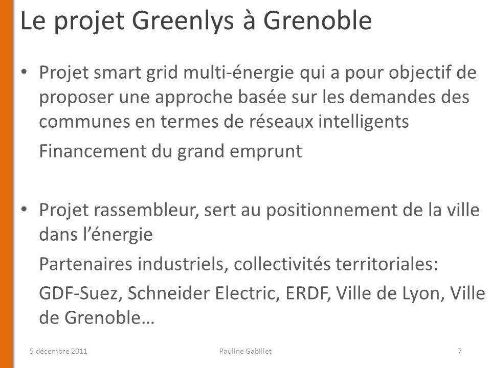 Le projet Greenlys à Grenoble