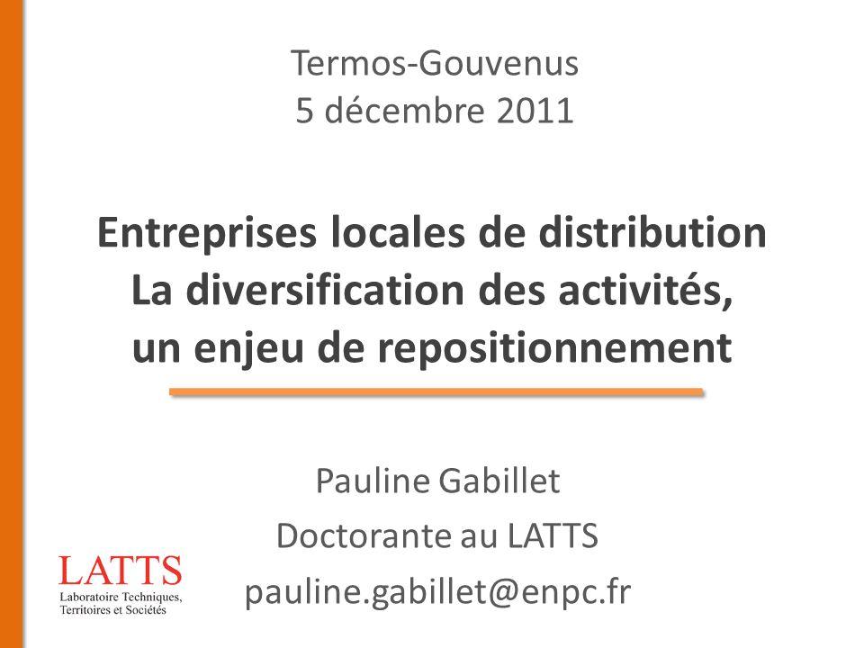 Pauline Gabillet Doctorante au LATTS pauline.gabillet@enpc.fr