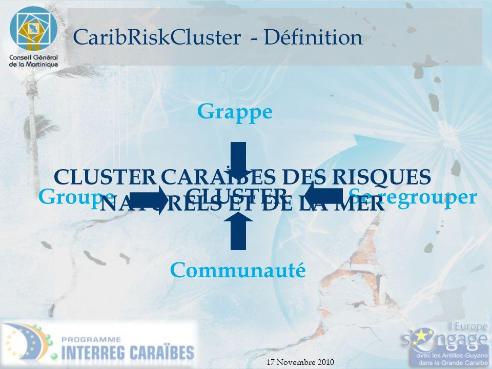 CaribRiskCluster - Définition