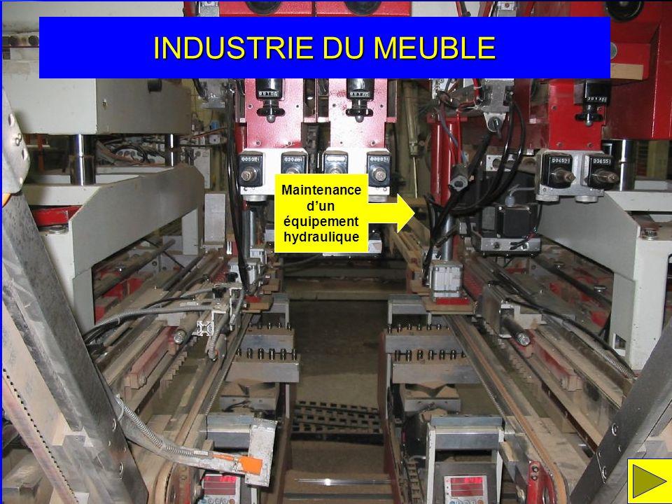Maintenance d'un équipement hydraulique