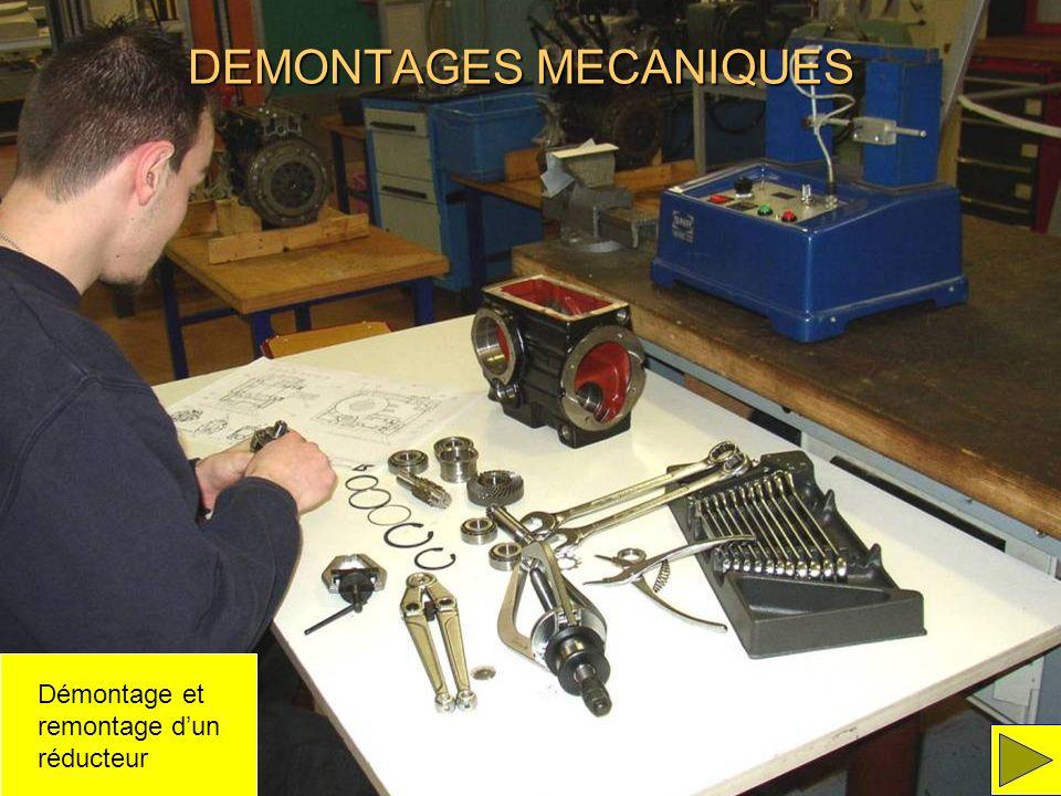 DEMONTAGES MECANIQUES