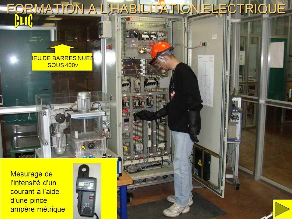 FORMATION A L'HABILITATION ELECTRIQUE
