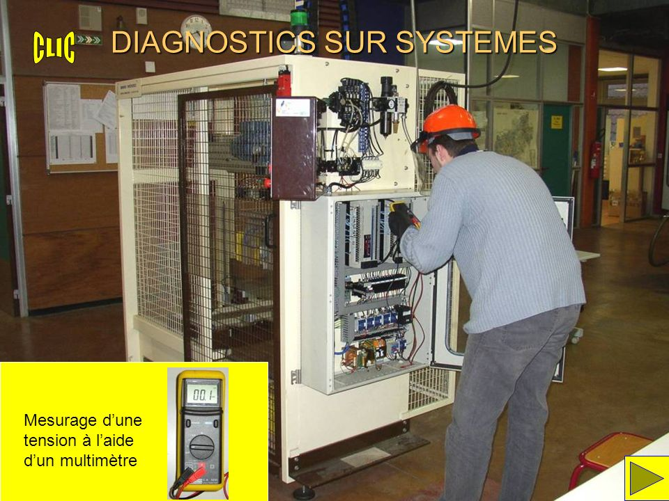 DIAGNOSTICS SUR SYSTEMES