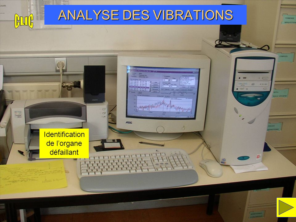 ANALYSE DES VIBRATIONS