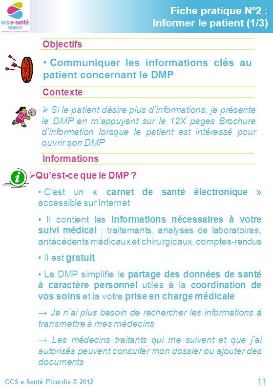 Fiche pratique N°2 : Informer le patient (1/3)