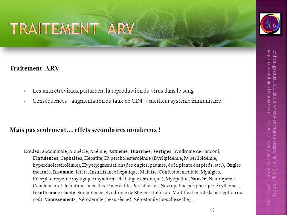 Traitement arv Traitement ARV
