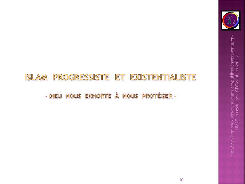 Islam progressiste et existentialiste - Dieu nous exhorte à nous protéger -