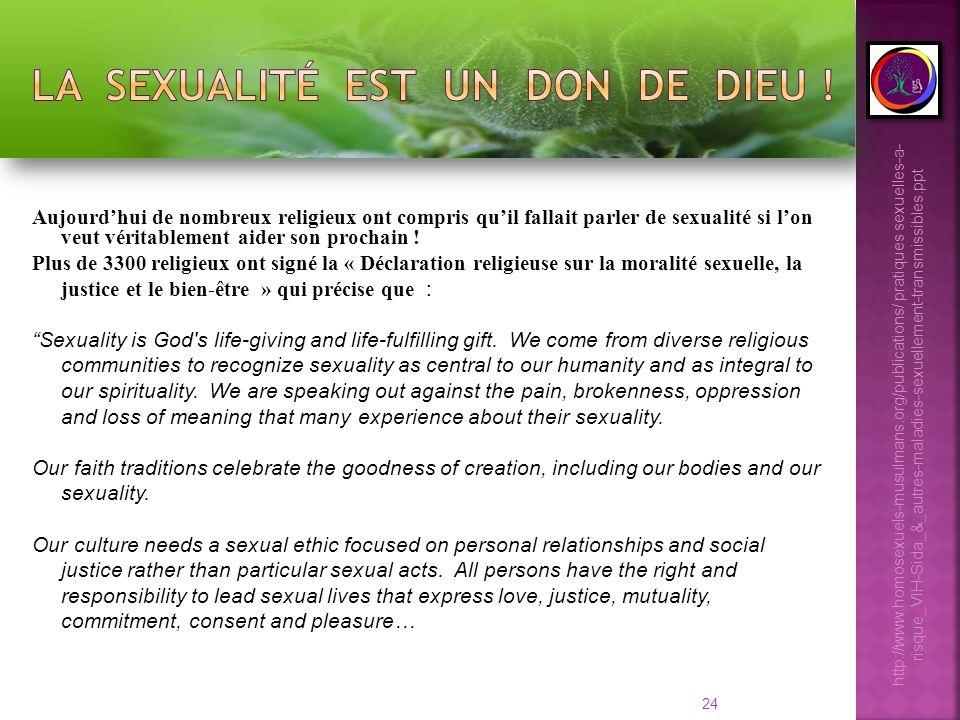 La sexualité est un don de DIEU !