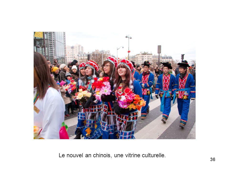 Le nouvel an chinois, une vitrine culturelle.