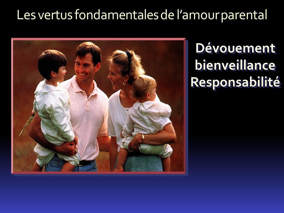 Les vertus fondamentales de l'amour parental