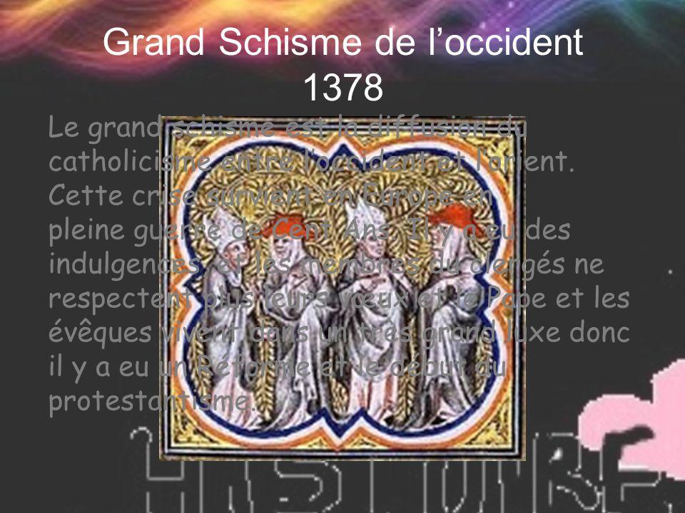 Grand Schisme de l'occident 1378