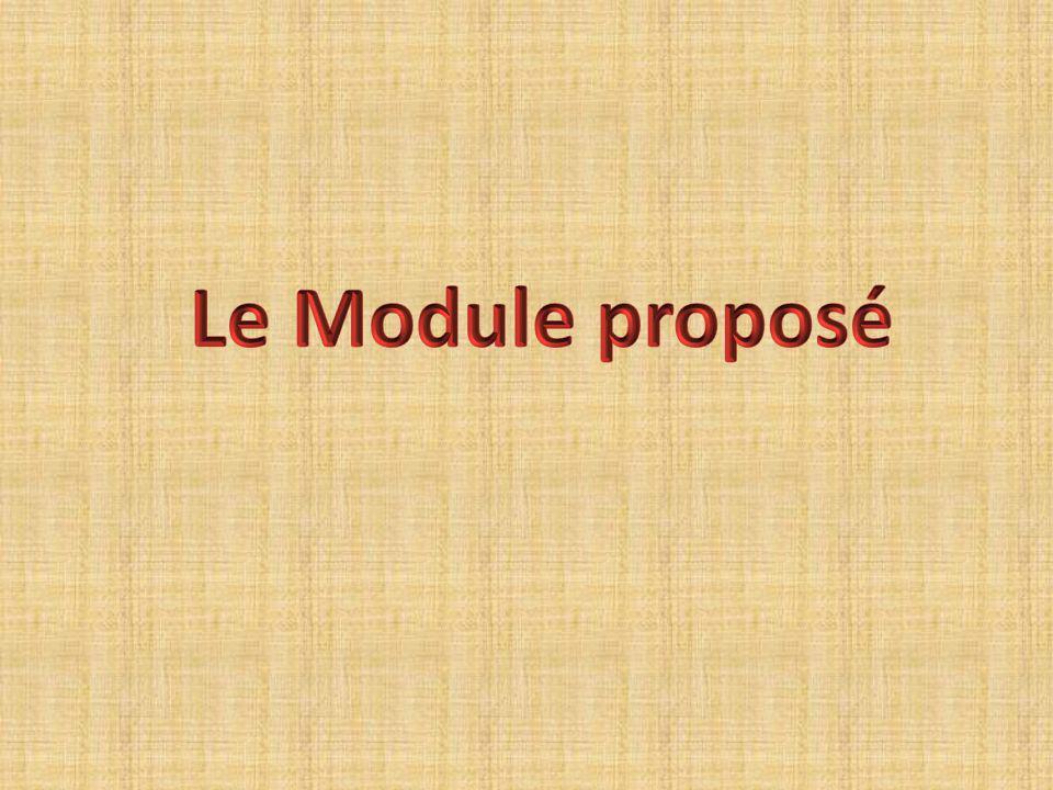 Le Module proposé