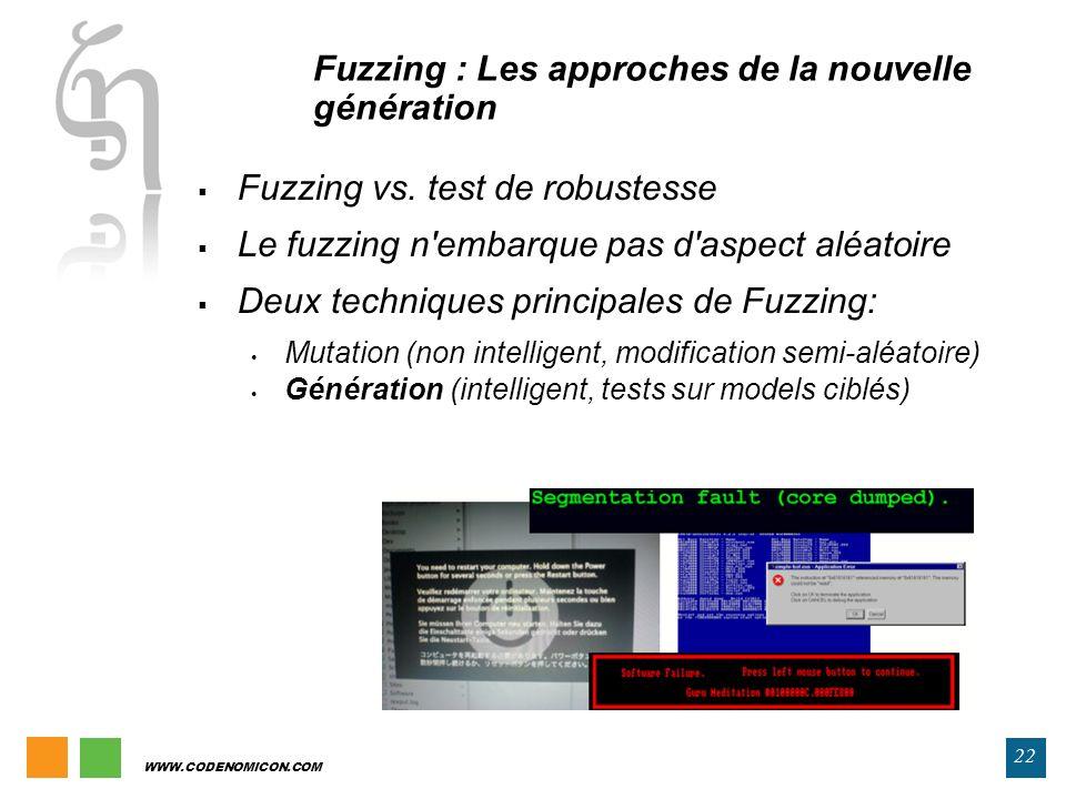 Fuzzing : Les approches de la nouvelle génération