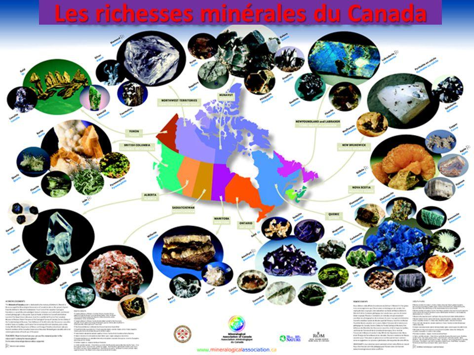 Les richesses minérales du Canada