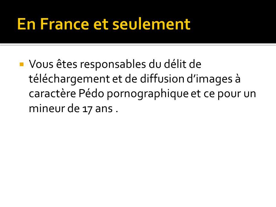 En France et seulement