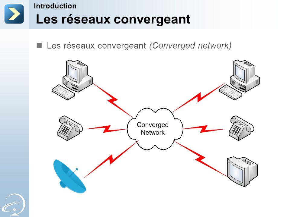 Les réseaux convergeant