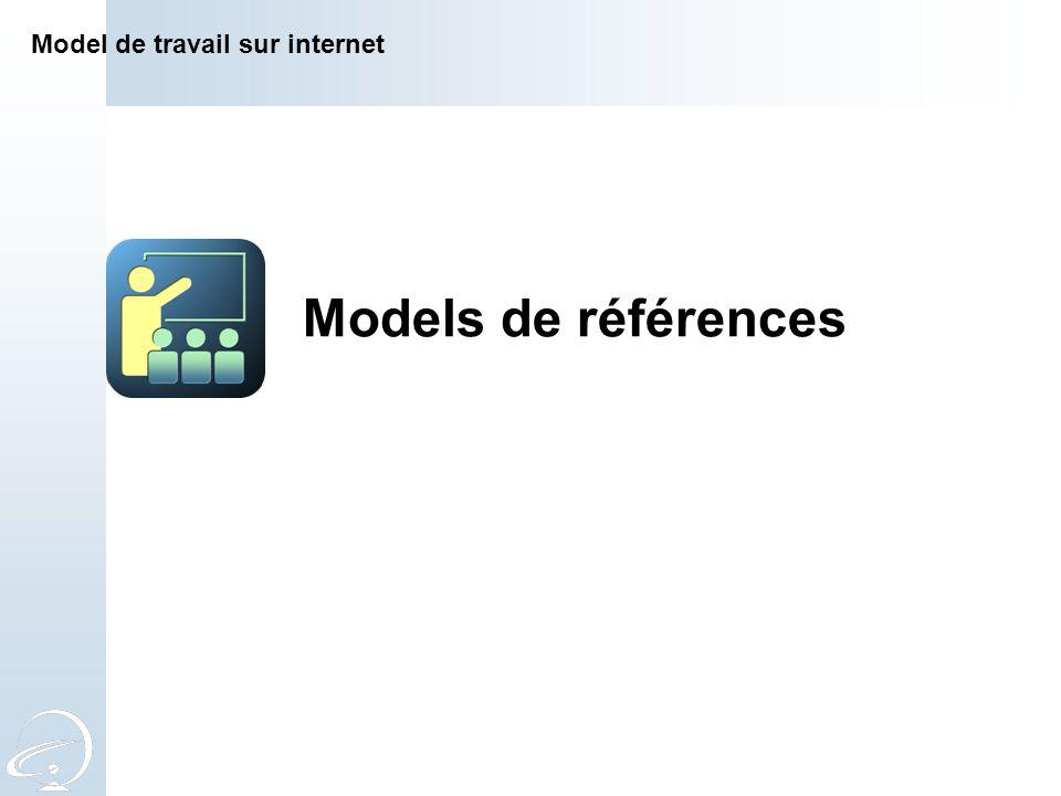 Models de références Model de travail sur internet 15 2-Apr-17