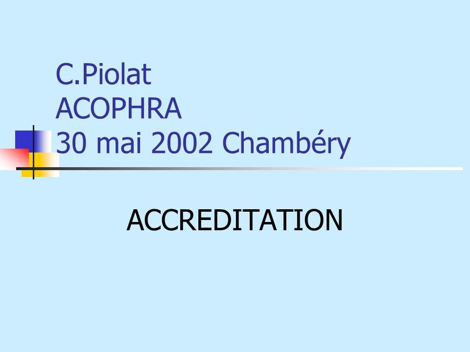 C.Piolat ACOPHRA 30 mai 2002 Chambéry