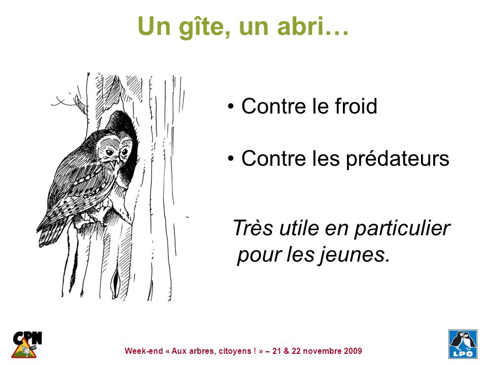 Week-end « Aux arbres, citoyens ! » – 21 & 22 novembre 2009