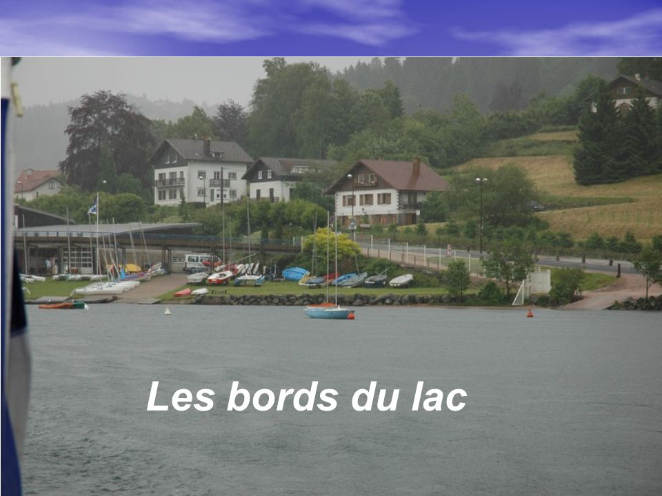 Les bords du lac