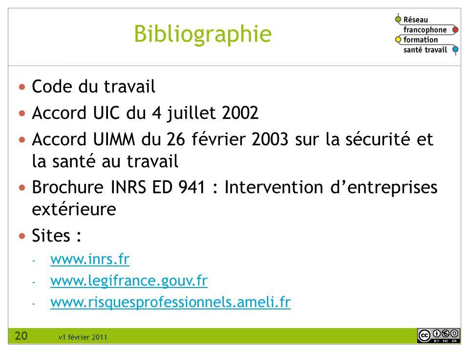 Bibliographie Code du travail Accord UIC du 4 juillet 2002