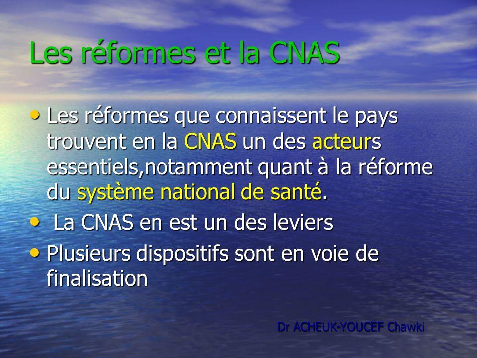 Les réformes et la CNAS