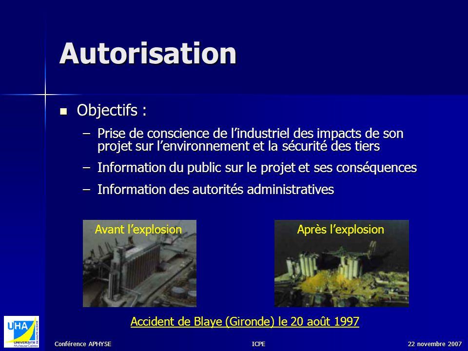 Accident de Blaye (Gironde) le 20 août 1997