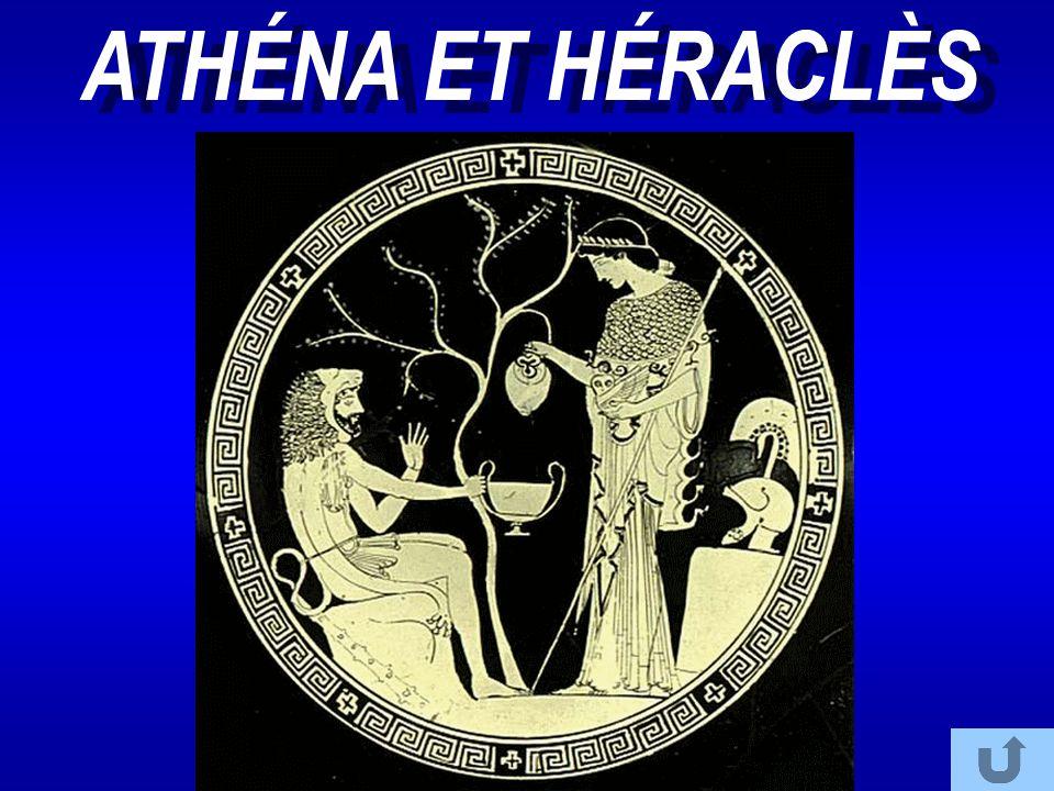 ATHÉNA ET HÉRACLÈS