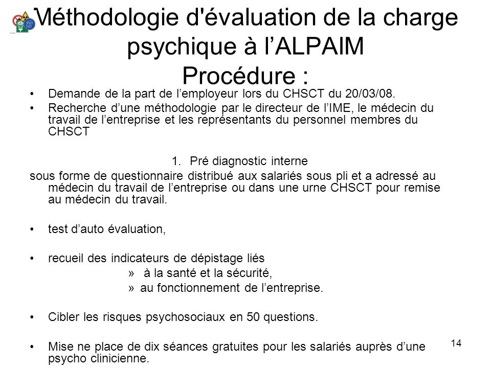 Pré diagnostic interne
