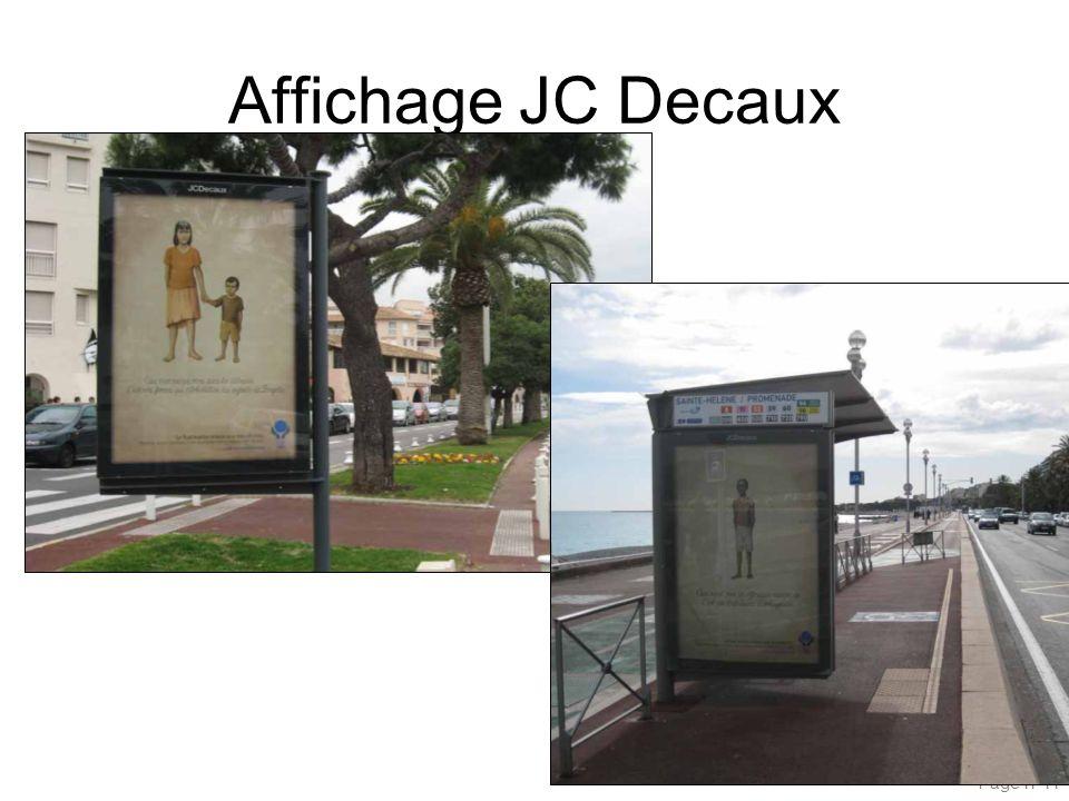 Affichage JC Decaux Page n°11