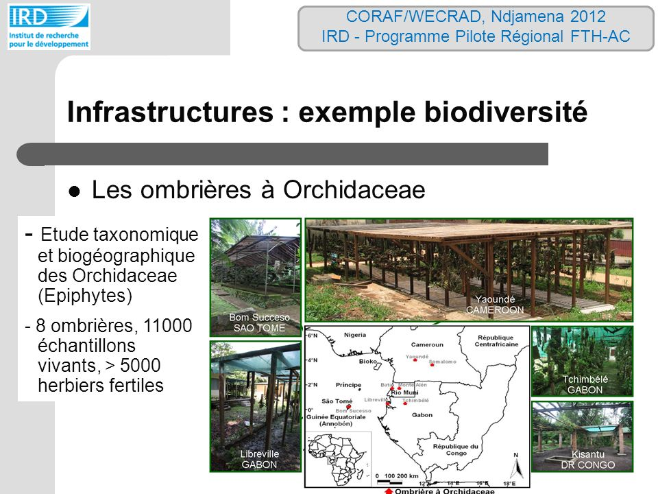 Infrastructures : exemple biodiversité