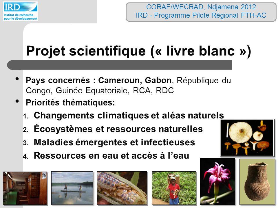 Projet scientifique (« livre blanc »)
