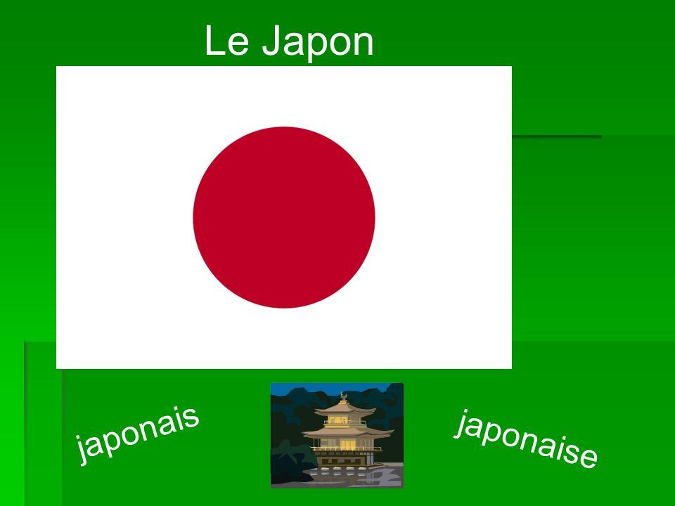 Le Japon japonais japonaise