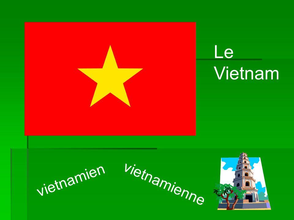 Le Vietnam vietnamien vietnamienne