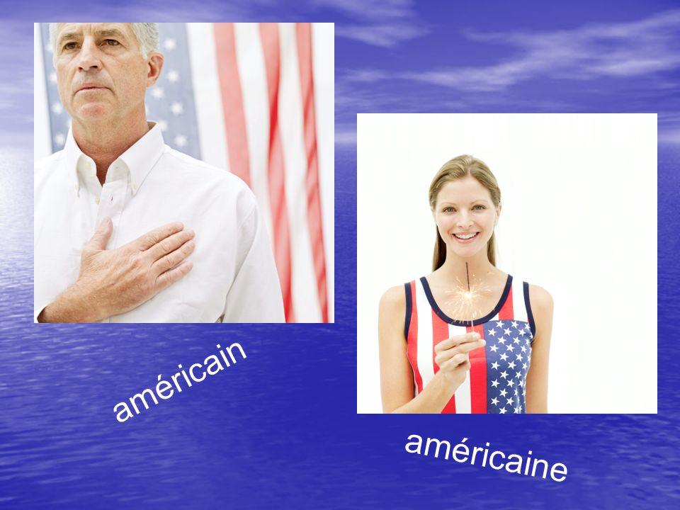 américain américaine