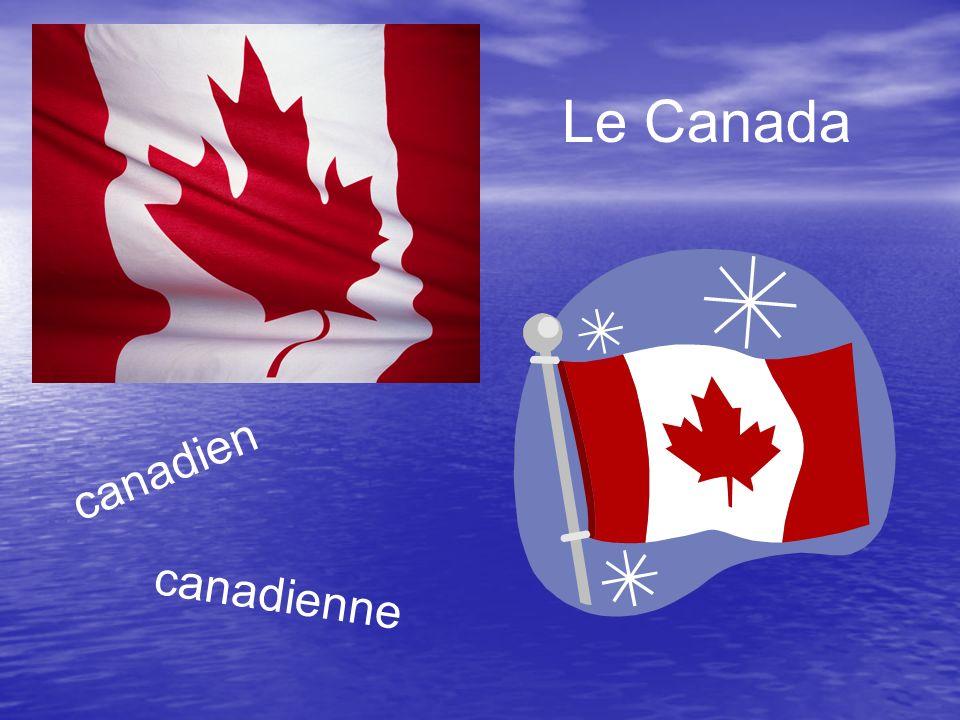 Le Canada canadien canadienne