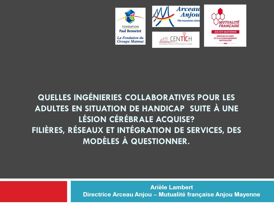 Directrice Arceau Anjou – Mutualité française Anjou Mayenne