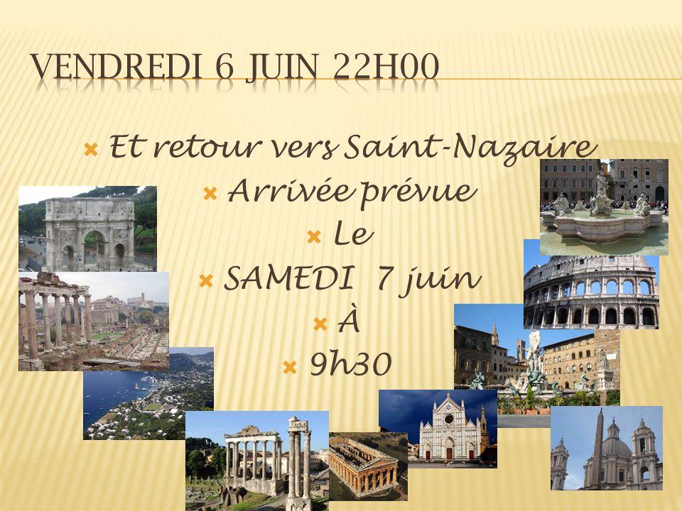 Et retour vers Saint-Nazaire