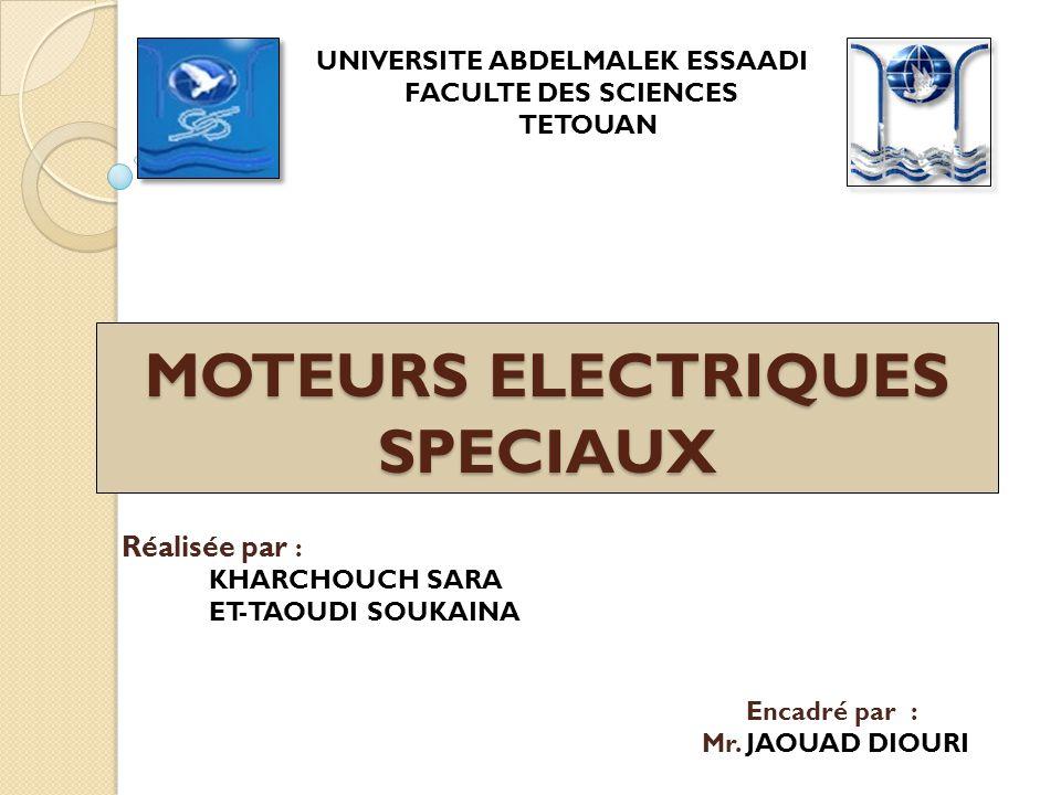 MOTEURS ELECTRIQUES SPECIAUX